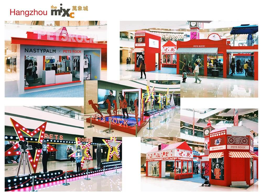 Pets Rock Mall Event MixC Hangzhou