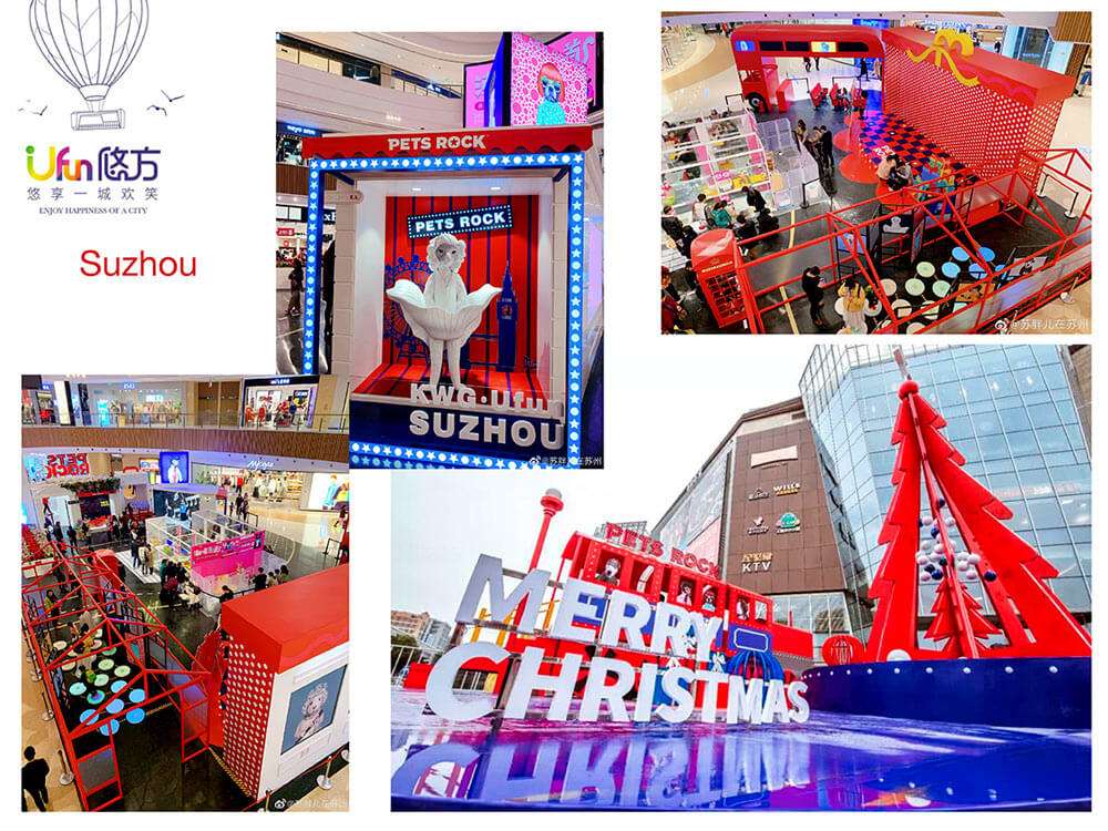 Pets Rock Mall Events Suzhou Ufun