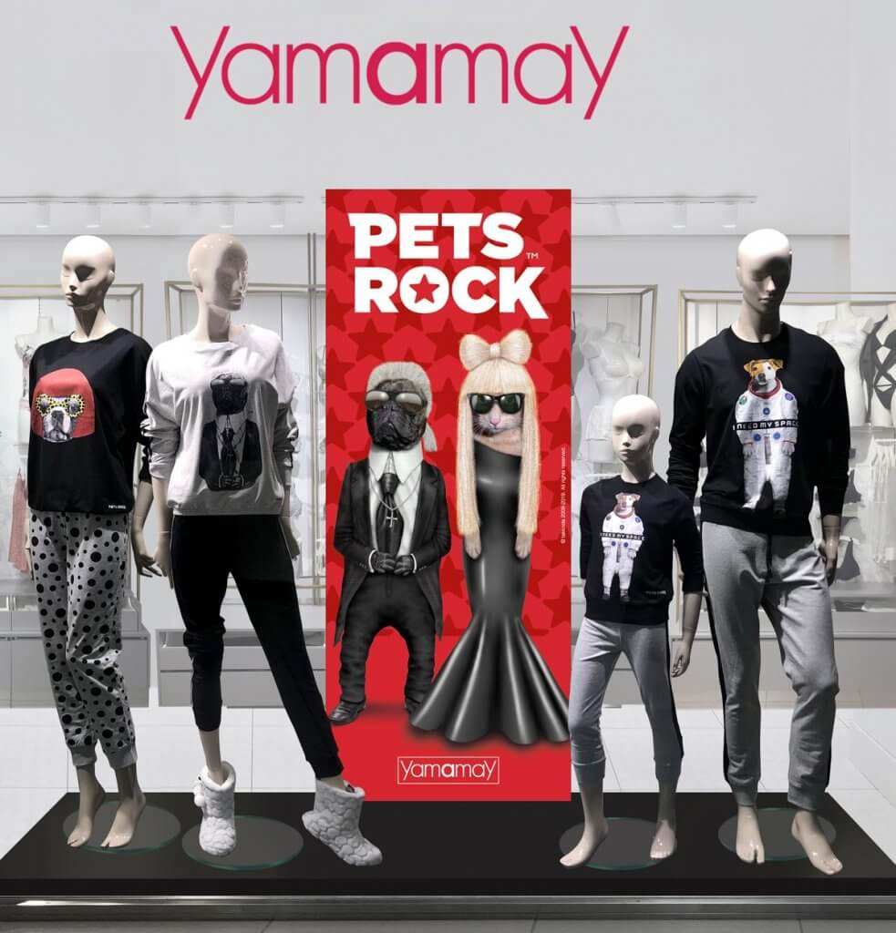 Pets Rock X Yamamay Sleepwear Collection Launched