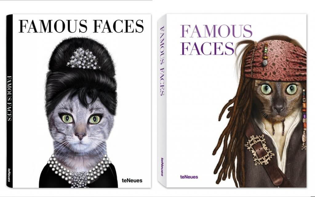 'Famous Faces' –  Pets Rock book launched