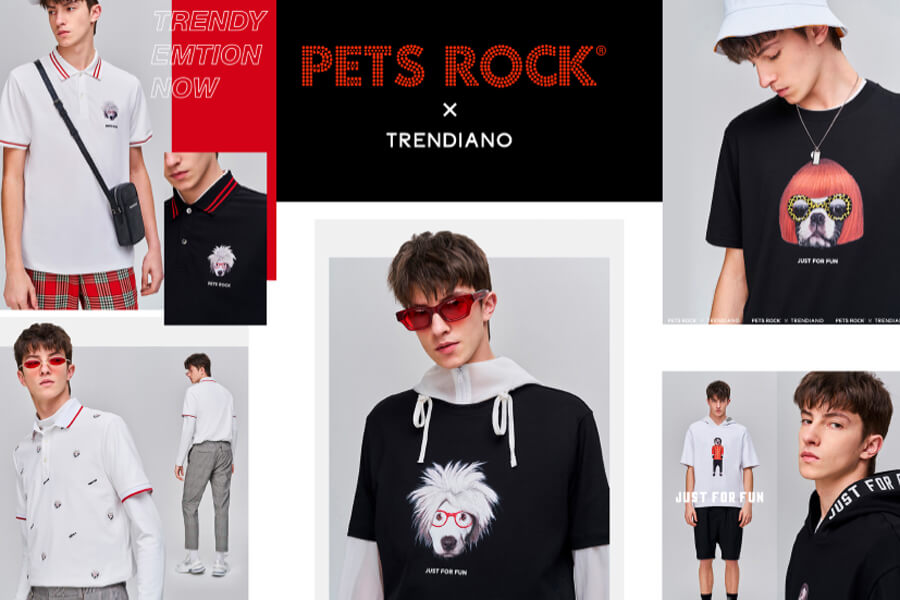 Pets Rock/Trendiano Apparel Collection
