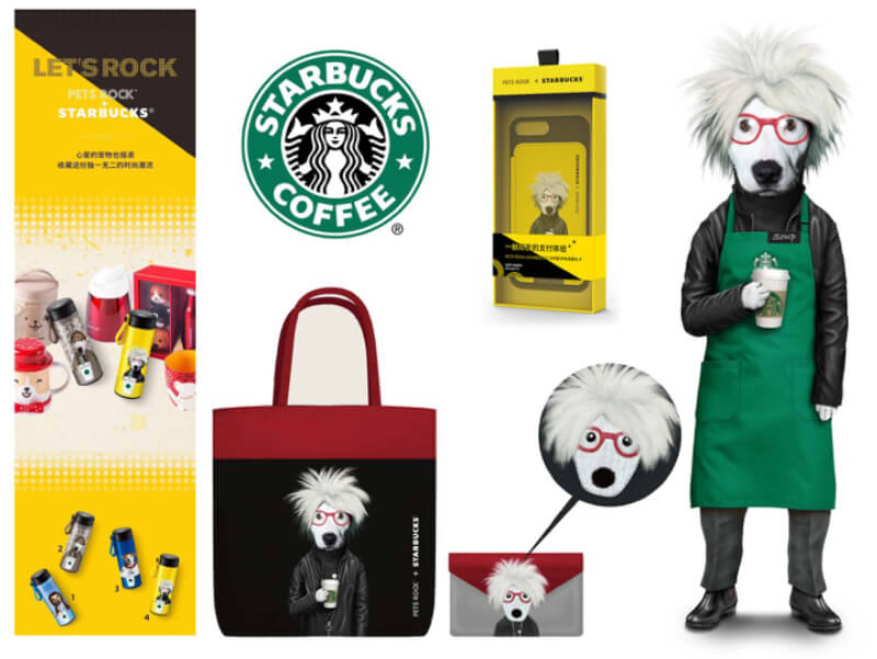 Pets Rock/Starbucks China Collaboration